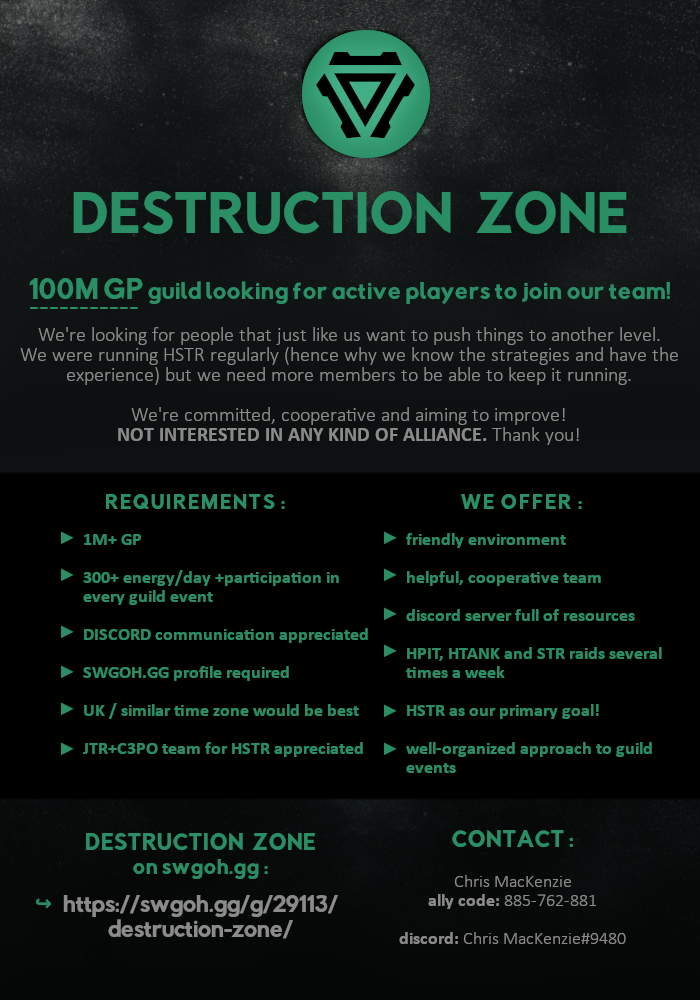 Active Guilds Looking For Players - September 2019 ***READ